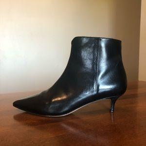 COLE HAAN | Black kitten heel ankle boot